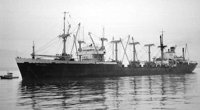 SS Alamance as SS Nevadan